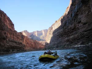 The Colorado River ... serene and serious