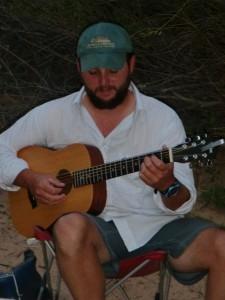 John serenades us into the evening