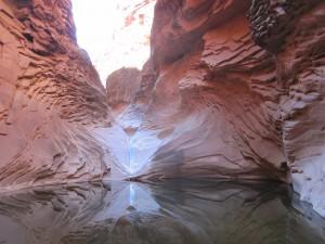 A beautiful spot, hidden along the Canyon walls