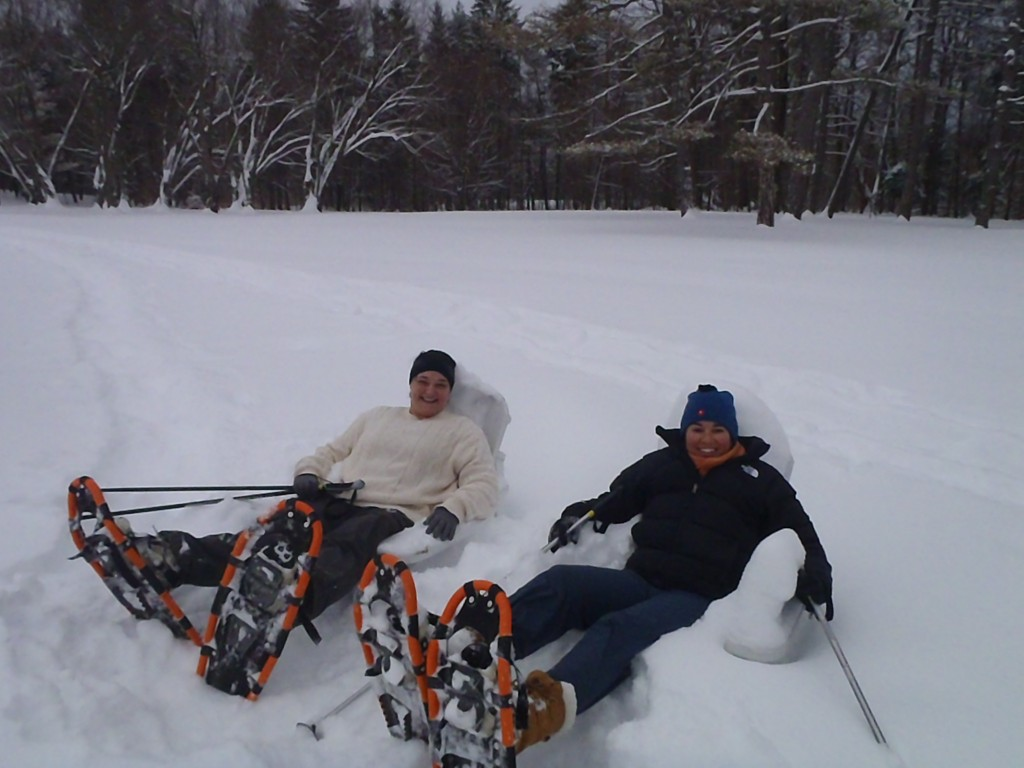 Snowshoeing in the Berkshires