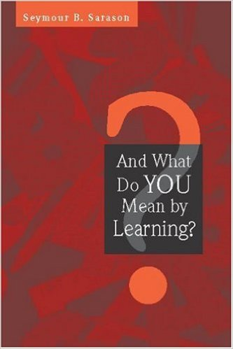 what do you mean by learning